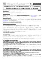 Bases Campeonato de Asturias de Iniciación 2019/2020