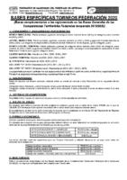 Bases Específicas Torneos Federación 2020