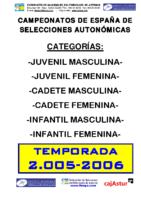 Memoria General Cto.España 2.006