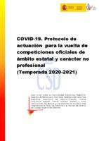 Protocolo Competiciones Estatales CSD