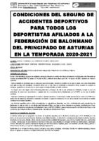 Normas SEGURO 20-21