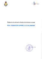 Protocolo de Actuación frente a la Violencia Sexual