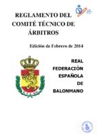 Reglamento del Comité Técnico de Árbitros